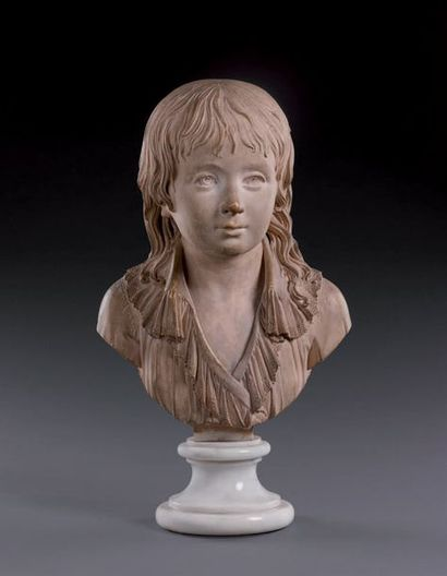 Attribué à Louis Pierre DESEINE (1749-1822) Portrait du Dauphin, futur Louis XVII...