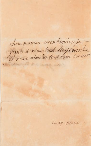 NAPOLÉON II (1811-1832) duc de REICHSTADT