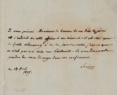 MARIE-LOUISE (1791-1847) Impératrice