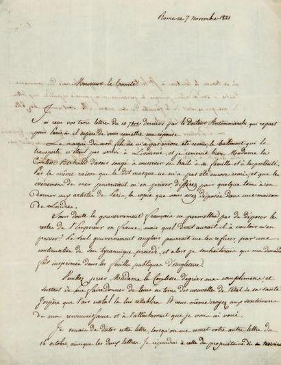 Letizia BONAPARTE (1750-1836) mère de Napoléon
