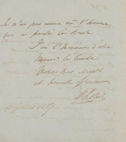 Hudson LOWE (1769-1844) général anglais, geôlier de Napoléon à Sainte-Hélène