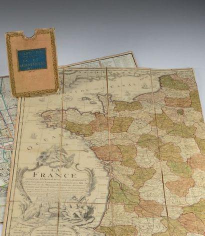 [CARTE]. LA France divisée en 83 départements suivants les décrets de l'Assemblée...