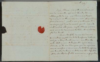 Henri-Essex EDGEWORTH DE FIRMONT (1745-1807) prêtre, le dernier confesseur de Louis XVI qu'il accomp