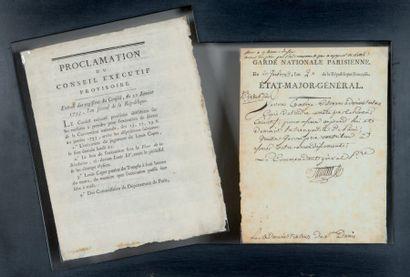 Antoine-Joseph SANTERRE (1752-1809) brasseur, meneur des journées révolutionnaires, commandant de la
