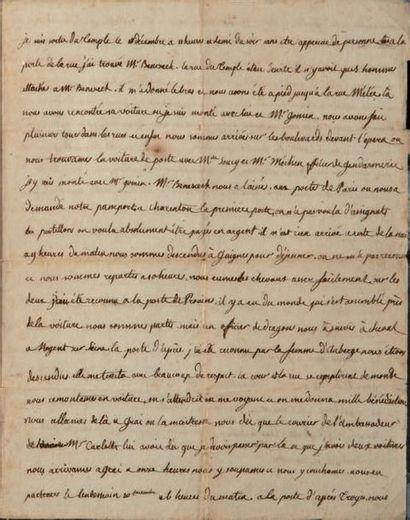 Marie-Thérèse-Charlotte de France, duchesse d'ANGOULÊME (1778-1851) dite MADAME ROYALE, fille de Lou
