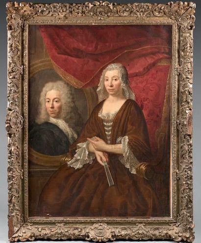 Attribué à André BOUYS (1656 - 1740)
