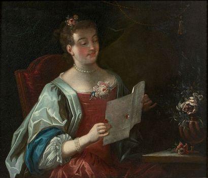 École FRANCAISE du XVIIIème siècle, suiveur de Jean RAOUX