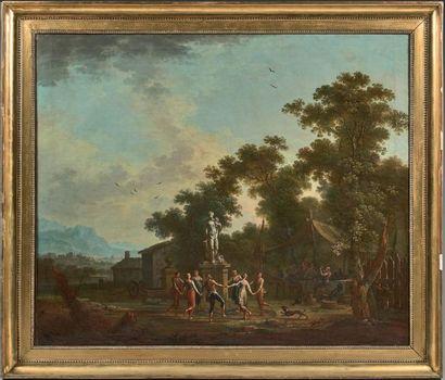 Jean Baptiste CLAUDOT (Badonvillier 1733 - Nancy 1805)