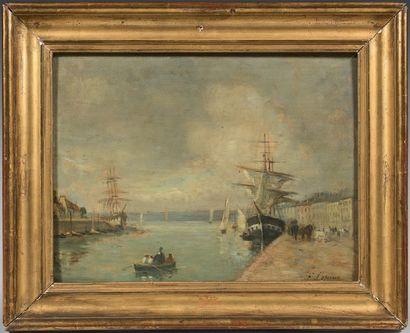 Attribué à Stanislas LEPINE (1835 - 1892)