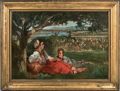 Gustave Henri COLIN (Arras 1828 - Paris 1910)