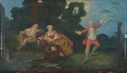 Attribué à Michel Barthélémy OLLIVIER (1712 - 1784)
