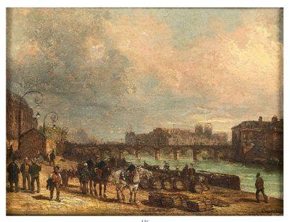Giuseppe CANELLA (Vérone 1788 - Florence 1847)