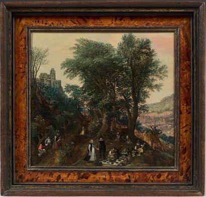 Attribué à Lucas van VALCKENBORCH (1535 - 1597)