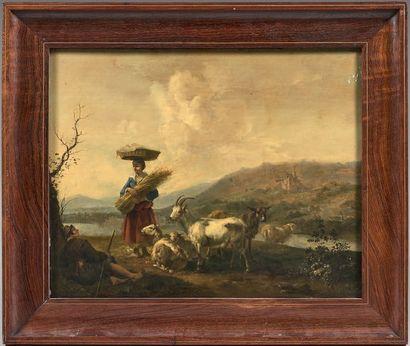 ATTRIBUÉ À HENDRICK MOMMERS (HAARLEM 1623 - AMSTERDAM 1693)