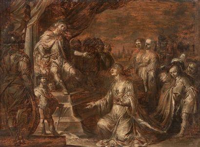 École FLAMANDE du XVIIème siècle, atelier de Pierre Paul RUBENS