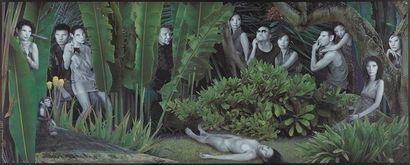 Daniel LEE (Né en 1945) Jungle, 2007 Impression...