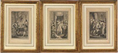 D'après un dessinateur du XVIIIe siècle....