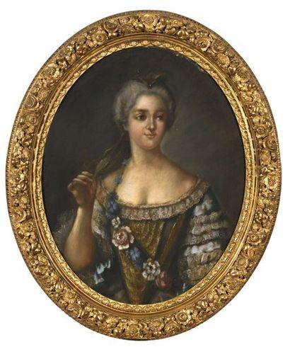 NATTIER Jean – Marc (D'après) (1685-1766)...
