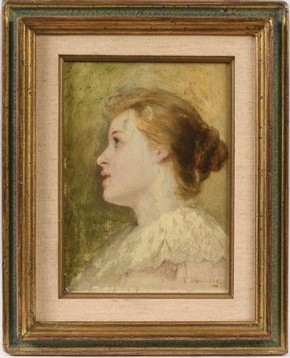 HOUSSAYE Joséphine (Nantes 1840 – Paris 1914)...