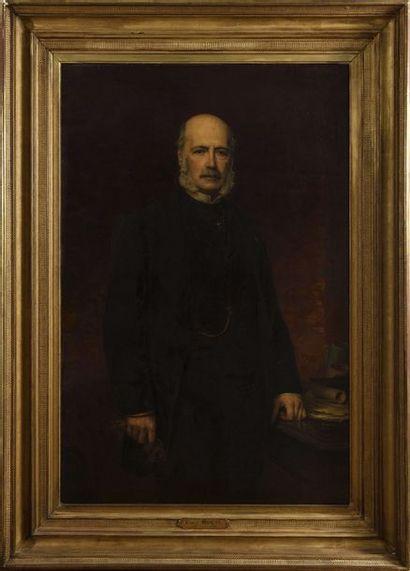 JALABERT Charles-François (1819-1901) Portrait...