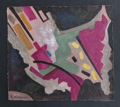 Youri (Georges) ANNENKOV (1889-1974) Projet...