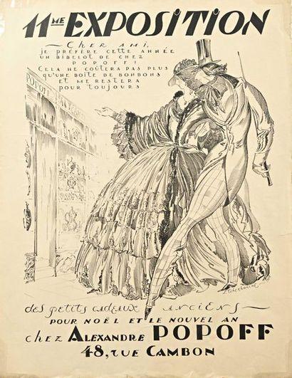 Tchekhonine Sergei ( 1878-1936 ) Affiche...