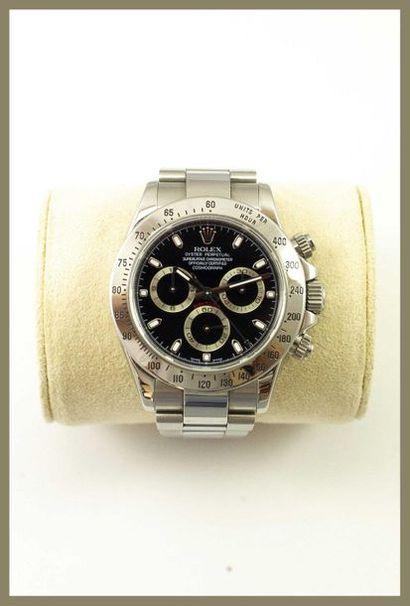 Rolex Daytona référence 116520 Montre chronographe...