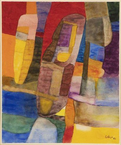 Maurice ESTEVE (1904-2001) Composition, 1982...