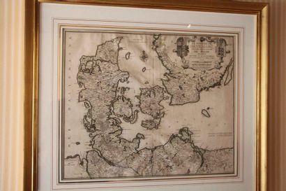 Carte «le royaume de Danemarc…» d'après...