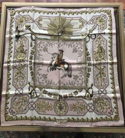 HERMES Paris. Silk scarf