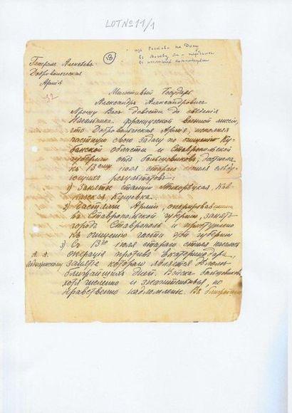 12 Alekseiev, Mikhail Vassilievitch (1857-1918)....