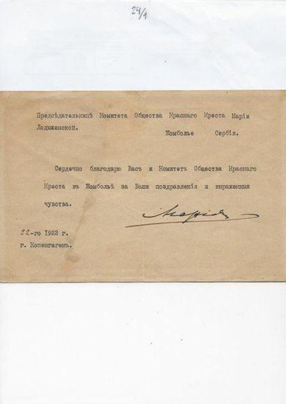 24 Maria Fiodorovna, Impératrice de Russie,...