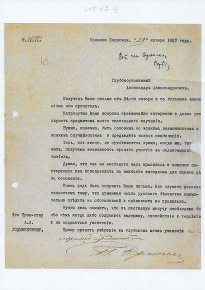 4 Wrangel, Piotr Nikolaievitch, général,...