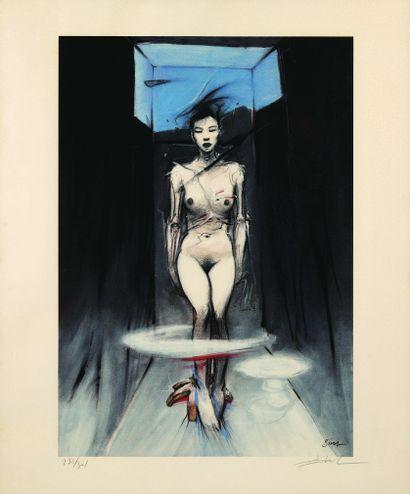 17 Enki BILAL (Né en 1957) Un siècle d'amour...