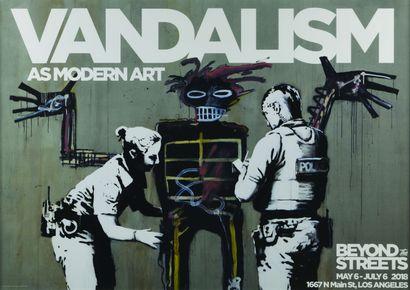 15 Banksy × Basquiat Vandalism As Modern...
