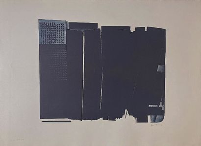 22 Hans HARTUNG (1904 – 1989) Lithographie...