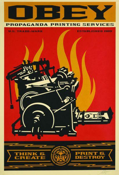 04 Shepard FAIREY (né en 1970) Propaganda...