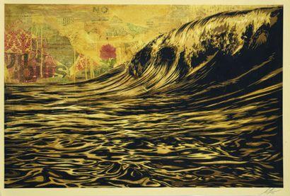 06 Shepard FAIREY (né en 1970) Dark Wave,...