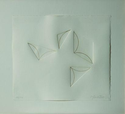 24 François MORELLET (1926 -2006) Sans titre...