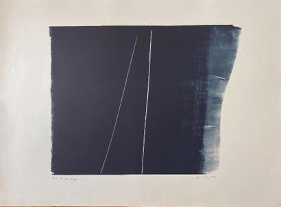 21 Hans HARTUNG (1904 – 1989) Lithographie...