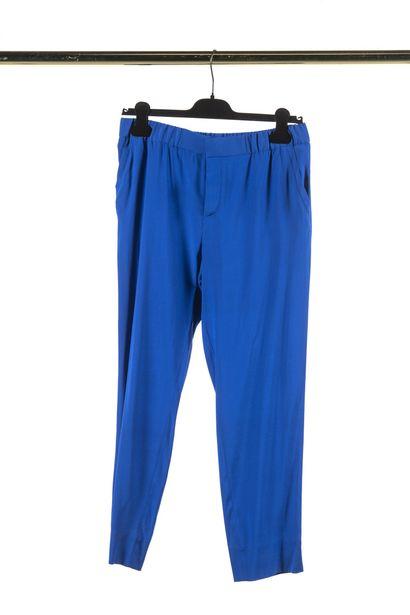 ROBERTO CAVALLI : pantalon sarouel en soie...