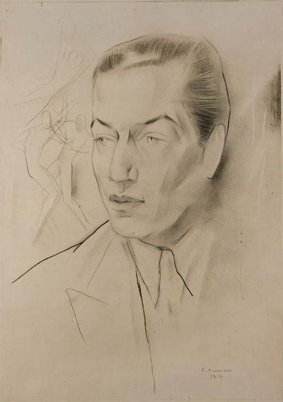 (SERGE LIFAR) Georges (Youri) ANNENKOV (1889-1974)...