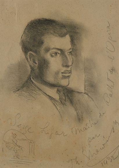 (SERGE LIFAR) Théodore STRAVINSKY (1907-1989),...