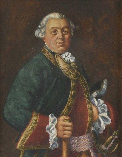 Trois portraits de la famille Likhatchev,...