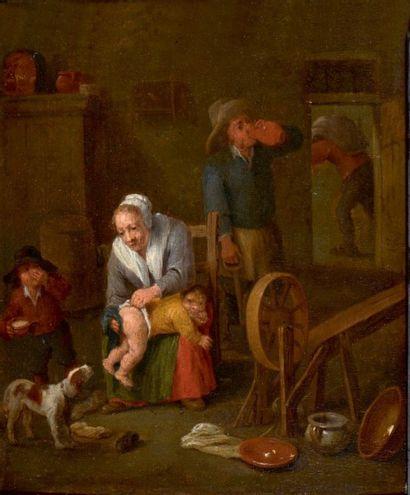 Jan Pietersz QUAST (Amsterdam 1606-1647), attribué à