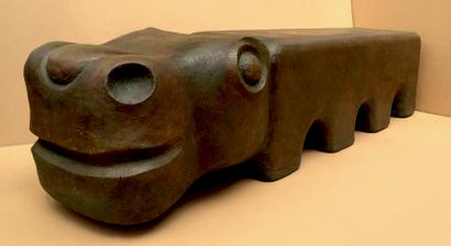 Hippo Carton. Hauteur: 50 cm Longueur: 205...