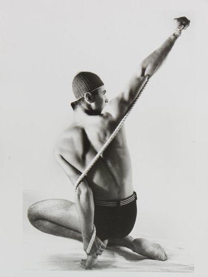 1 Patrick SARFATI (1958) Le nageur -1981...