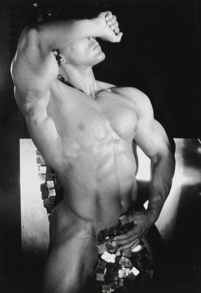 3 Patrick SARFATI (1958) Bodybuildeur Tirage...