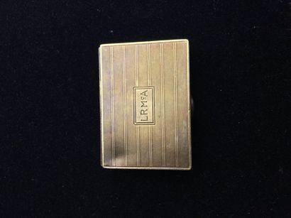 42 CARTIER Petite boîte rectangulaire en...