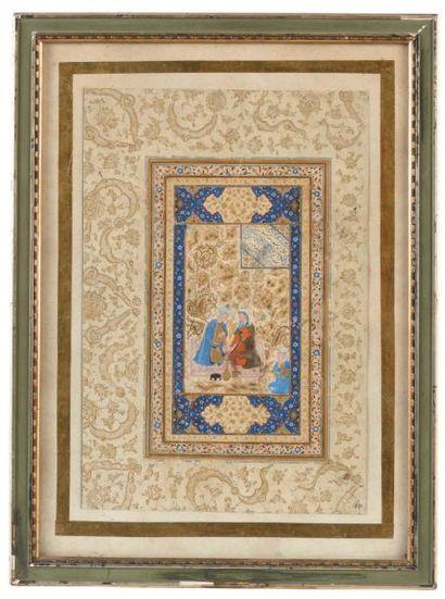 IRAN - XVIe siècle